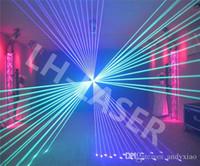 projetor laser rgb ilda venda por atacado-Mostra da luz do laser da modulação análoga da animação de 500mw RGB / DMX, laser de ILDA / luz do disco / projetor do laser da fase