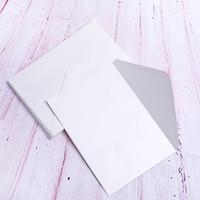 convite de marfim venda por atacado-A7 marfim pérola papel envelopes com cola à base de água, Pefect para 5 x 7 convites de casamento, cartões, fotos, uso do chuveiro de bebê