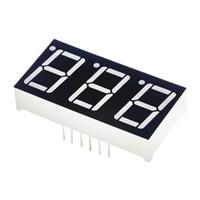exibir cátodo comum venda por atacado-0.56inch 7 Segmento 3bit Digital Tubo Vermelho Common Cathode LED Display de dígitos 0.5 polegadas 0.5 0.56 polegada 0.56 '' 0.56in. três 3 bits