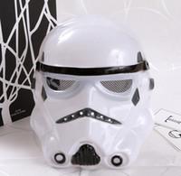 neue cosplay männlich großhandel-Star W Maske Schwarz Weiß Neue Design Halloween Cosplay Male Masken