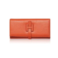 ingrosso portafogli per le signore-All'ingrosso-Designer Portafogli Famoso Portafoglio da donna di marca 2017 Portafoglio femminile di lusso in vera pelle borsa delle signore borsa dei soldi portafoglio rosso teschio