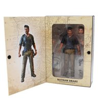 "Wholesale ultimate models - NECA Uncharted 4 A thief's end NATHAN DRAKE Ultimate Edition PVC Action Figure Collectible Model Toy 7"" 18cm"
