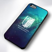 Wholesale phones cases for iphone 5c online – custom Classic Attack on Titan Scouting Legion Phone Case For Iphone c s s plus splus plus plus Samsung Galaxy S5 S6 S6ep S7 S7ep
