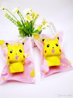 Wholesale dolls silicone for sale - Group buy Slow Rising Artificial Doll Squishy Phone Knapsack Charms Squishies Lovely Jumbo Toys Cute Mini Silicone Squeeze Toy Yellow Color bq ZZ