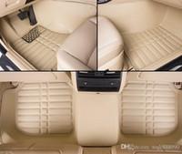 alfombras impermeables al por mayor-Alfombras de piso de alta calidad para Toyota Land Cruiser 200 Highlander Camry 3D revestimientos impermeables para alfombras (2007-presente)