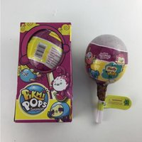 Wholesale wholesale toy stores - Pikmi Pops Funny Lollipop Balls Stored Dolls Scented Toys Surprise ball Little Pets Doll Inside Toys Gifts Lollipop size 15*7.5cm KKA4790