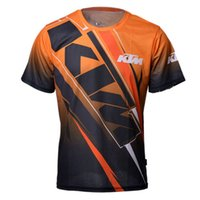 Wholesale Dh Cycling Jerseys - Free Shipping Motocross for Ktm Jerseys Bike Racing Motorcycle Bicycle Sleeve T-shirt Cycling MTB DH MX Motor QUICK-DRY Short