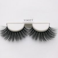 Wholesale natural decorative - False eyelashes Luxurious 3D False Eye lashes Thick Natural Long Lashes Beauty Women Makeup Decorative Cosmetic