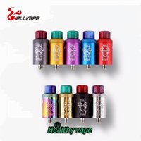 Wholesale terminal for sale - Group buy 100 Original Hellvape Dead Rabbit RDA Atomizer Top Terminal Four Post Build Deck Tank For Thread Box Mods from healthyvaping