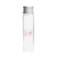 бутылочное стекло оптовых-50 pcs/lot Mini Wishing Bottles with Cover Clear Glass Bottle Vials Tiny Little Message Bottle Bocal Verre 6ml Vial 166005