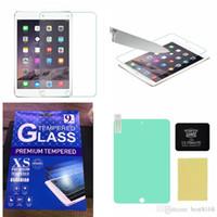 tela final venda por atacado-Limpar BUFF final protetor de tela para iPad Air 5 Air2 6/2 3 4 / Ipad Mini 1 2 3 Shock Absorption à prova de explosão com pacote de varejo