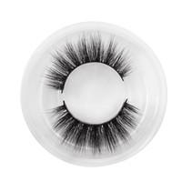 extensiones de pestañas de venta al por mayor-2018 Venta Caliente Pestañas Falsas 3D Visón Pestañas Natural Largo Fake Eye Lashes Etiqueta Privada Pestaña Para Maquillaje Extension Lash