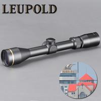 ingrosso fucili da cecchino-LEUPOLD VX-3 3-9X40 Mil-dot Cannocchiali Mirino Caccia Scope w / Supporti per Caccia Softair Fucile Da Cecchino