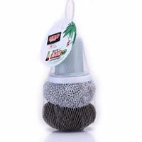 ingrosso ciotola di spazzola-Spazzola per la pulizia della cucina in plastica morbida in fibra di bambù, padella antiaderente Spazzola per la pulizia del piatto in vaso
