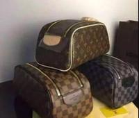 geschenke machen für männer großhandel-Herren Reisetasche Make-up Kosmetiktasche Clutch Handtasche Casual Geldbörsen Kosmetik Geschenk Geldbörse