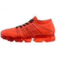 Wholesale Wedding Dresses Styles For Men - With box Vapormax Mens Running Shoes 2018 moc black belt New style For Men Sneakers Women Fashion Athletic Sports Shoes Walking Outdoor Shoe
