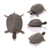 ingrosso pesci falsi pesci-Simulazione artificiale Ornamentale Decorare Fake Tortoise Aquarium Emulational Tartarughe galleggianti per Fish Tank Decor