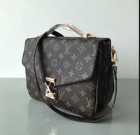 Wholesale brand name messenger bag - High Quality Designer Bags Luxury Bags Women's Bags Brand Name Messenger Bag PU