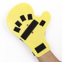 grüne led-armbänder großhandel-1 stücke Handgelenk Orthese Separate Finger Flex Krampf Erweiterungsplatine Schiene Apoplexie Hemiplegie ASD88
