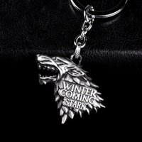 Wholesale car games boys - Fashion Anime Game of Thrones Keychain For Men Trinket Portachiavi Car Keyring Key Chain Ring Chaveiro Jewelry Gift Souvenirs