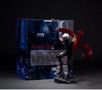 tokio ghoul kaneki figura de acción al por mayor-23 cm Tokyo Ghoul Kaneki Ken Anime figura de acción de PVC Nueva colección de figuras de juguetes para regalo de amigo
