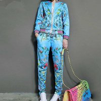 Wholesale long yoga pants for women for sale - Two Piece Set Tracksuit For Women Elegant Top And Pants Set Womens Casual Sweat Suits Fitness Summer Outfits Female