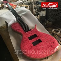Wholesale musical ebony fingerboard for sale - Group buy Factory custom top quality Neck Through Body strings electric bass guitar with Ash body and Ebony fingerboard musical instrument shop