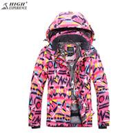 Women Ski Jacket Snowboard Jacket Winter Clothing Thermal Skiing Sport Wear  Windproof Waterproof Female Super Warm Coat 17d666acd