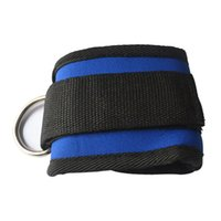 Wholesale Wrist Ankle Bands - 1pcs Sports Ankle Strap Wrist Support Cuff Ankle Strap Gym Band Protector D Ring Multi Training Ring Attachment 2018 New