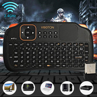 Wholesale computer remote keyboard - Viboton S1 All-in-One 2.4G Wireless Keyboard Air Mouse Remote Controller with Touchpad for Computer Projector TV Box Tablet etc.