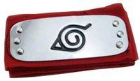 ingrosso naruto cosplay-Anime Naruto Fascia Logo Foglia Villaggio Konoha Kakashi Akatsuki Membri Costume Cosplay Accessori blu rosso nero