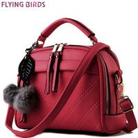 Wholesale flying bird women bags for sale - Group buy FLYING BIRDS women leather handbag of brands women messenger bags cross body ladies shoulder shoulder bag bolsos LM3918fb D18102407