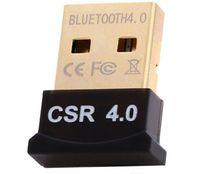 ingrosso portatile del ricevitore del bluetooth-Bluetooth Adapter USB CSR 4.0 Dongle Receiver Transfer Wireless per laptop PC Computer spedizione gratuita