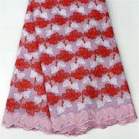 Wholesale Cotton Voile Dress - Swiss voile lace in Switzerland hand cut Swiss lace fabrics 100% cotton Swiss voile lace fabric for wedding dress