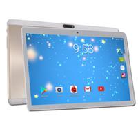 3g tablet pc dhl ips venda por atacado-DHL Livre 10 polegada Tablet PC MTK8752 Octa Núcleo de 4 GB de RAM 64 GB ROM Android 7.0 3G 4G LTE FDD Tablet PC 2.5D Vidro Temperado IPS 10.1
