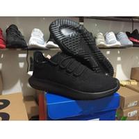 Wholesale flat cardboard - Wholesale 2018 Mens Womens Originals Tubular Shadow Knit Core Black White Cardboard Sneakers Running Shoes boost 3D Sneakers 5-11