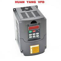 accionamiento inversor al por mayor-HUAN YANG Variador de frecuencia variable de calidad VFD NUEVO 3HP 2.2KW 220V 250V 380V disponible