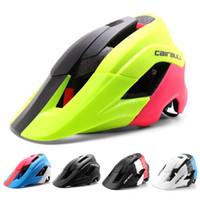 Wholesale woman mtb helmet resale online - CAIRBULL Super Design Mountain Bike Helmet Deeper Coverage MTB Bicycle Helmet Superior Venting Cycling For Men Women
