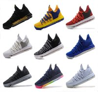 Wholesale Floor Free - Kids KD 10 Basketball shoes Hot Sale FMVP Signature Shoes Classic 9 Style Kevin Durant Sneaker Free Shipping&With Box