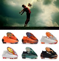 Wholesale cupping for massage - 2018 Mercurial Superfly VI Soccer Shoes Kids 360 Elite FG Soccer Cleats FIFA World Cup Magista Obra Football Boots For Men Women 35-45