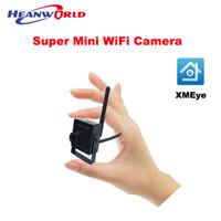 câmeras ip sem fio pequeno venda por atacado-O Mínimo Menor Câmera Wi-fi HD 720 P Home Security Câmera IP sem fio Smart View por Telefone Móvel APP Alarme Email Micro SD