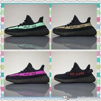 Wholesale Box For Bowtie - 2017 Boost 350 V2 Zebra Cp9654 Orange Grey Beluga 2.0 AH2203 Black Red Bred CP9652 Kanye West Running Shoes For Sale With Original Box