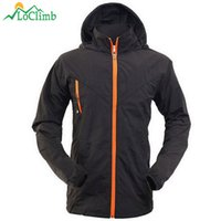 5a8b16f149a LoClimb Anti-UV Thin Camping Hiking Jackets Men Summer Waterproof Clothes  For Tourism Outdoor Trekking Sport Hooded Jacket