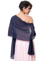 пурпурные платки шарфы оптовых-2018 Fashion Scarf Wrap Shawl Hijab Summer Popular Sheer Shawls Scarves For Women Cachecol Femme Chiffon Scarf Shawl Blue Purple