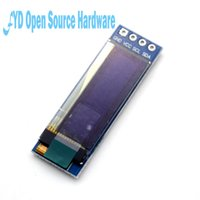 módulos arduino i2c al por mayor-1pcs 0.91 pulgadas 128x32 I2C IIC Serial LCD Display Module 0.91