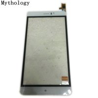 mtk6572 mobile toptan satış-Mitoloji JIAKE M8 Android 4.4 için Dokunmatik ekran MTK6572 Çift Çekirdekli 6.0 Inç Cep telefonu dokunmatik panel stokta