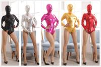 juguetes de medio cuerpo al por mayor-Medias del spandex del bolso del cuerpo, mitad Body Bondage refrene el mono del fetiche, juegos alternativos Productos del sexo, juguetes del sexo para las parejas