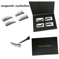 Wholesale lash boxes - Yaopoly Magnetic Eyelashes Handmade 3D Mink Magnetic Lashes Natural False Eyelashes Magnet Lashes with gift box private label 3d mink lashes