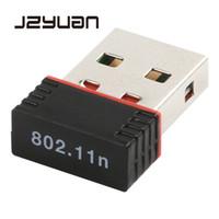tp mini al por mayor-Alta velocidad USB 2.0 WiFi Adaptador inalámbrico 150M Red LAN Tarjeta Mini 150Mbps 802.11 ngb