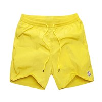 Wholesale geometric swimwear online - Men s Board Shorts Summer Beach Pants Quick Drying Swimwear Male Swim Shorts With Liner Swimming Trunks